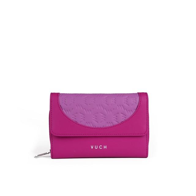 Peňaženka - Swen kožená ružová