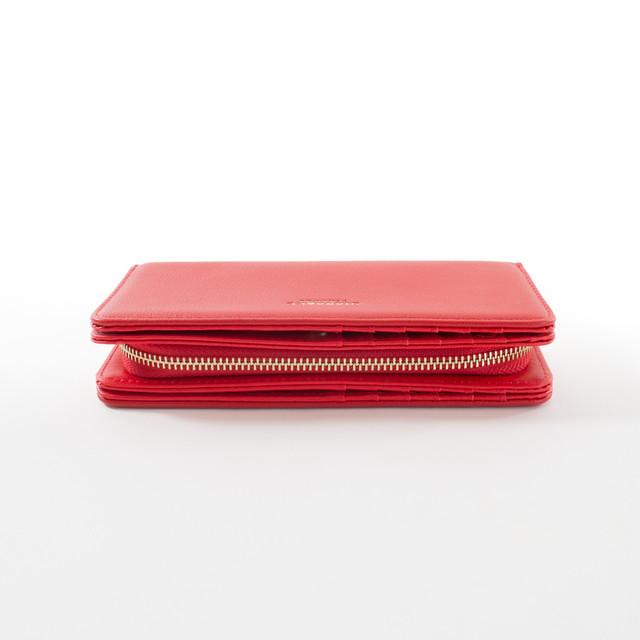 Peňaženka - elegantná Diana, červená