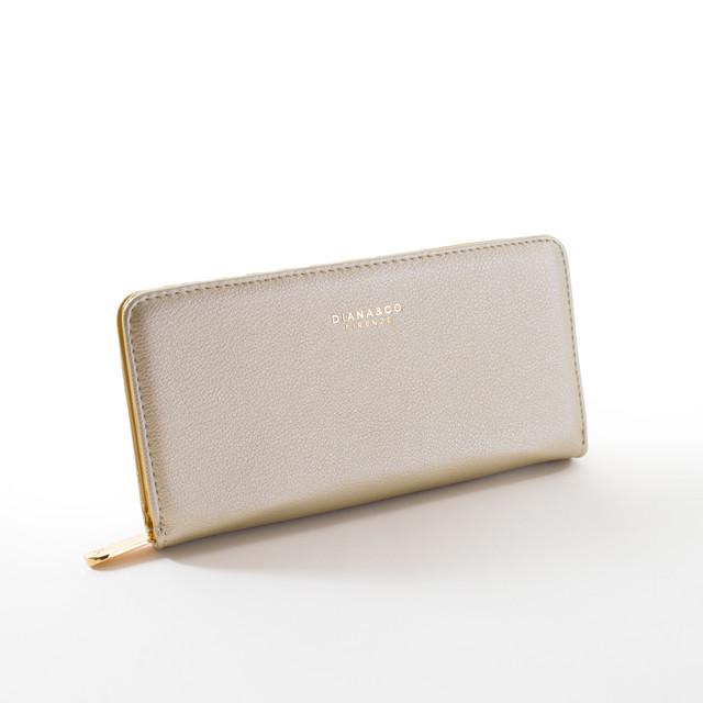 Peňaženka - elegantná Diana, zlatá