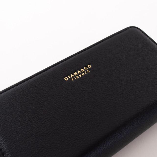 Peňaženka - elegantná Diana, čierna
