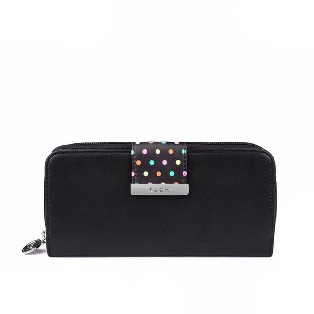 Peňaženka - Florianna čierna