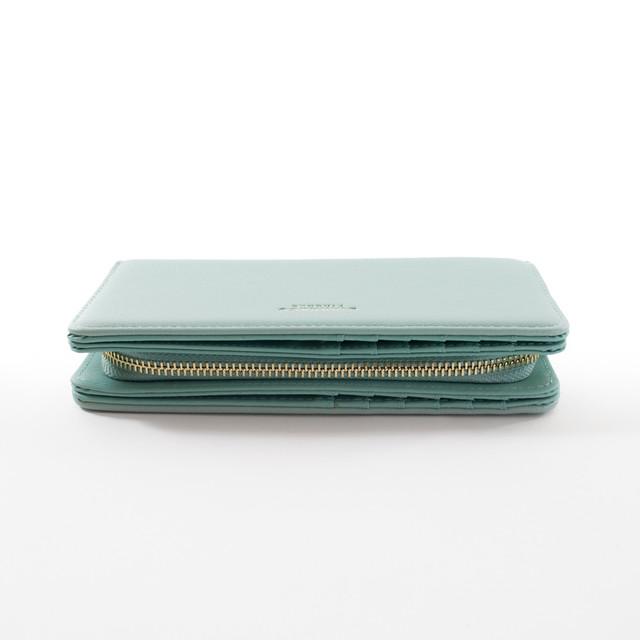 Peňaženka - elegantná Diana, zelená