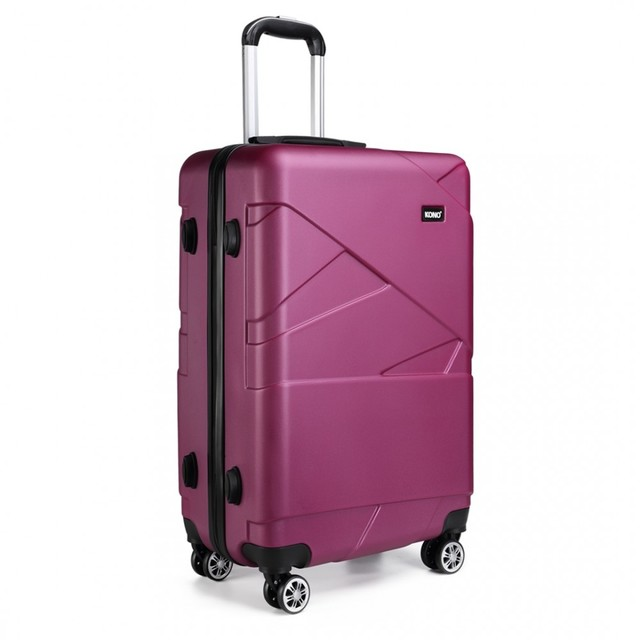 Kufor - travel matný malý fialový