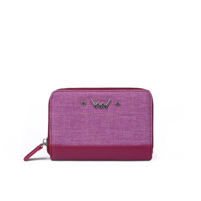 Peňaženka - Cherryl tmavoružová
