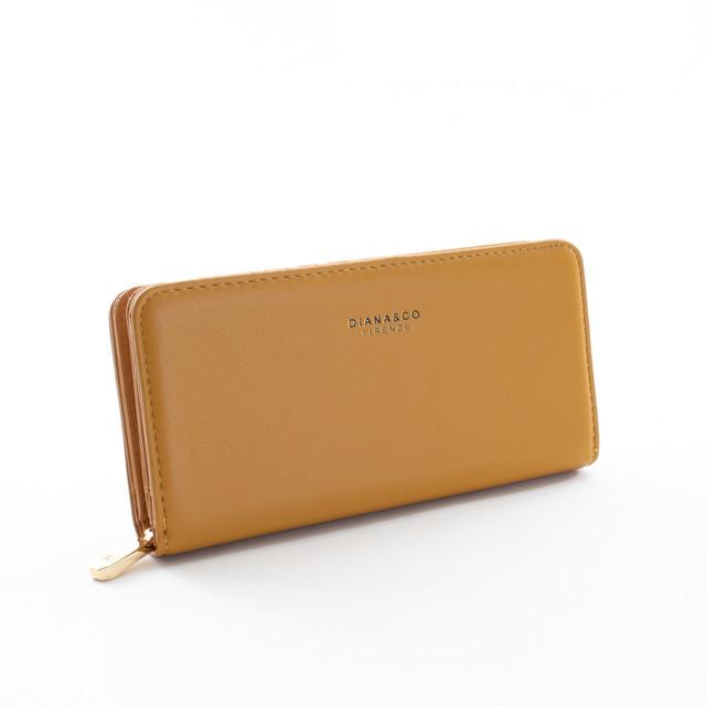 Peňaženka - Diana elegantná, praktická, horčicová