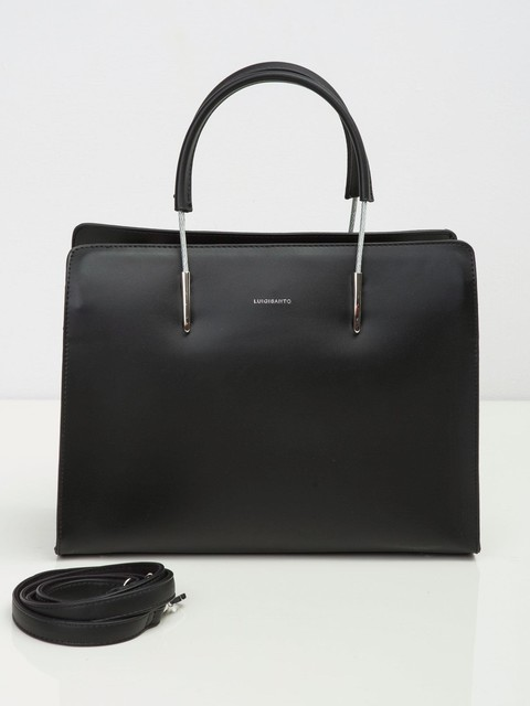 Kabelka - grab elegantná Luigisanto čierna