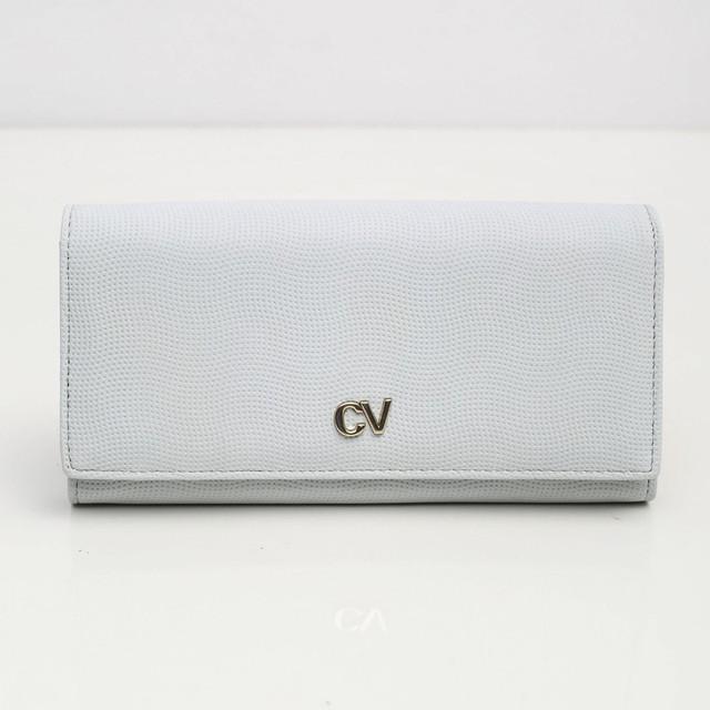 Peňaženka - koženková Cavaldi, bledomodrá