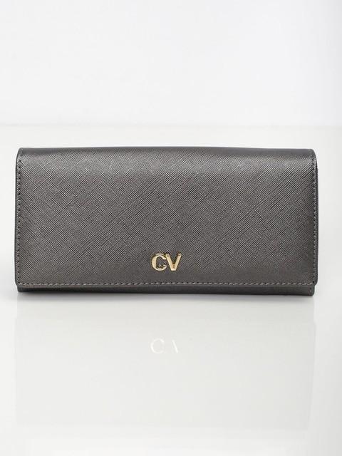 Peňaženka - Saffiano koženková sivá