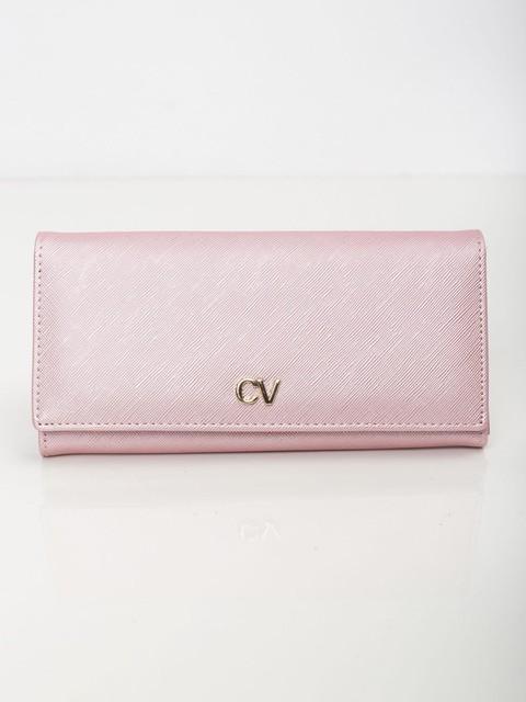 Peňaženka - Saffiano koženková ružová