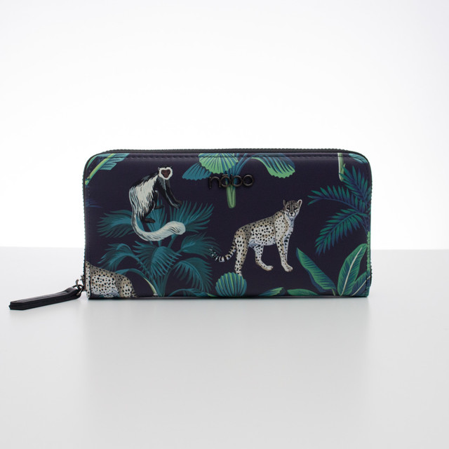 Peňaženka - Nobo tropic, čierna