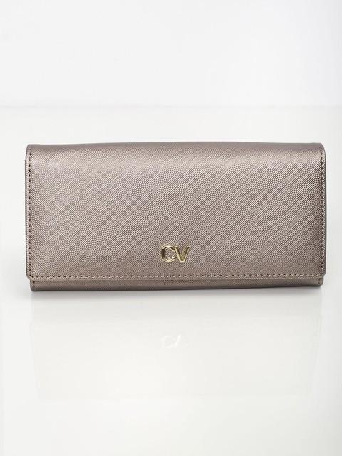 Peňaženka - Saffiano koženková zlatá