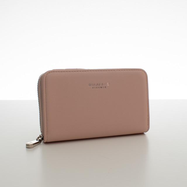Peňaženka - do kabelky elegantná Diana, ružová