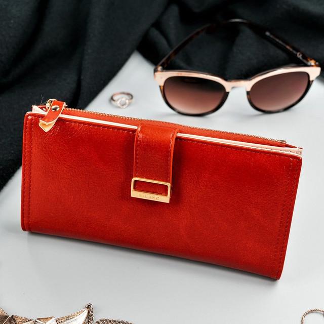 Peňaženka - Milano design elegantná červená