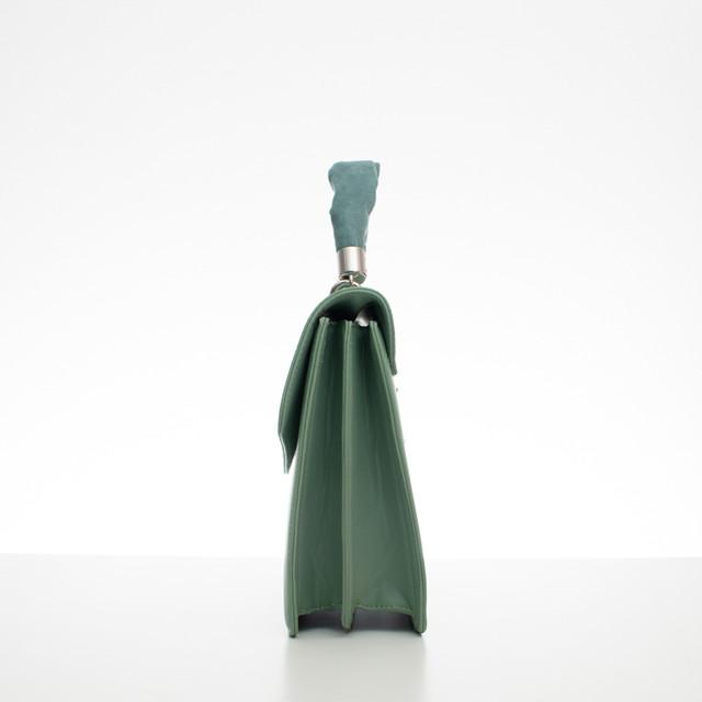 Kabelka - aktovka Diana s rúčkou zelená