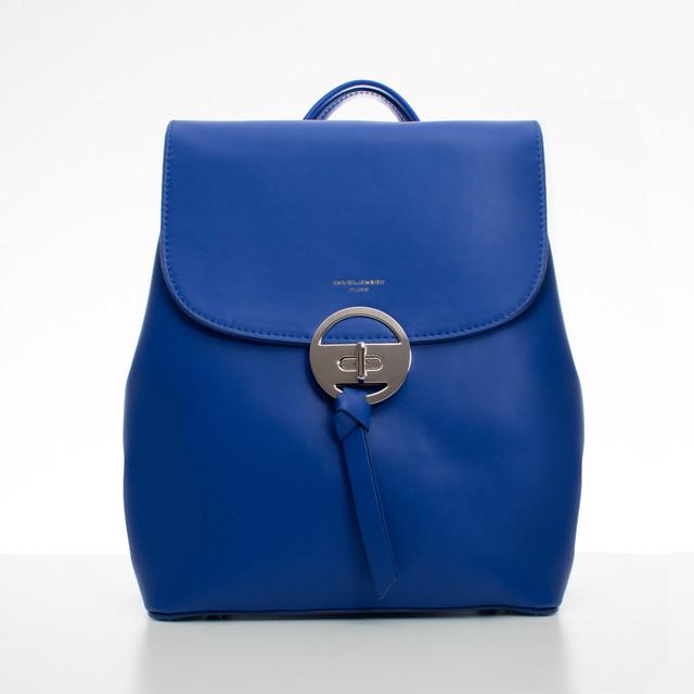 Batoh - elegantný s doplnkami David Jones, modrý