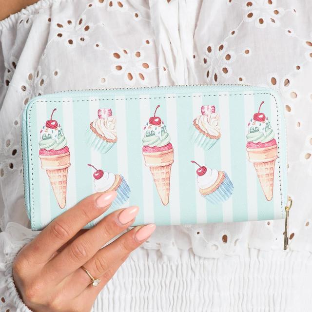 Peňaženka - zmrzlina mentolová