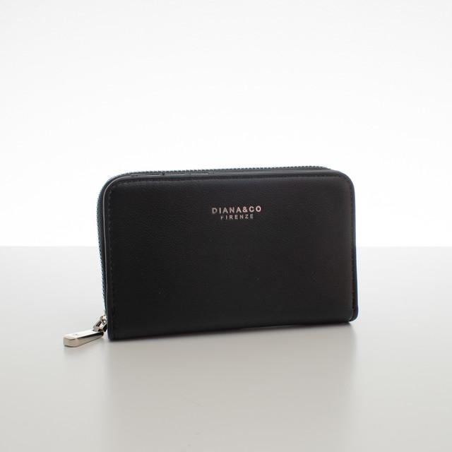Peňaženka - do kabelky elegantná Diana, čierna