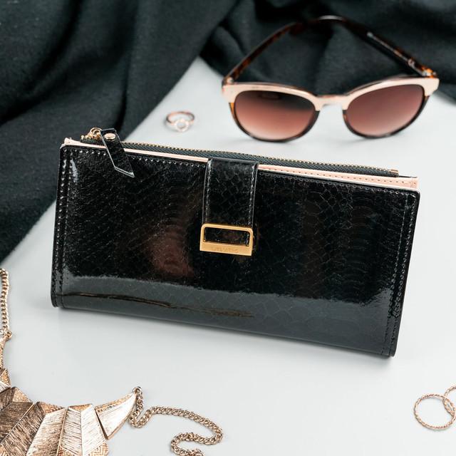 Peňaženka - Milano design elegantná čierna