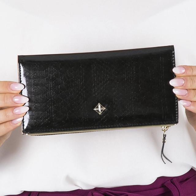 Peňaženka - dámska Milano design koženková čierna