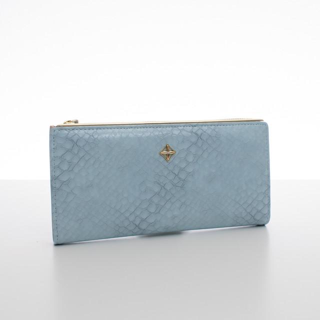 Peňaženka - dámska Milano design koženková, bledomodrá