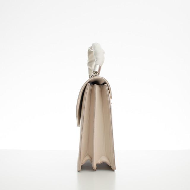 Kabelka - aktovka Diana s rúčkou béžová
