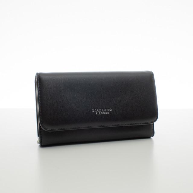 Peňaženka - dámska Diana koženková, čierna