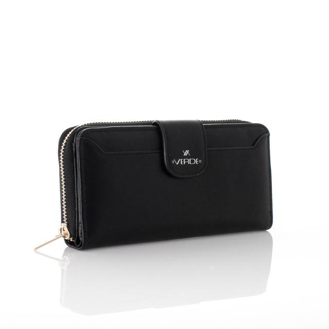 Peňaženka - koženková Verde čierna