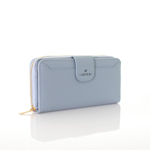 Peňaženka - koženková Verde modrá