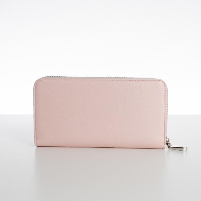 Peňaženka - zipsová, koženková Diana, ružová