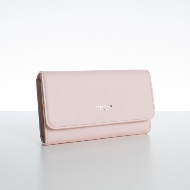 Peňaženka - veľká s cvokom Diana, ružová