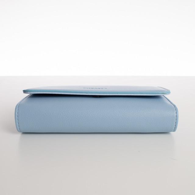 Peňaženka - veľká s cvokom Diana, bledomodrá