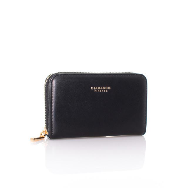 Peňaženka - stredná autumn Diana čierna