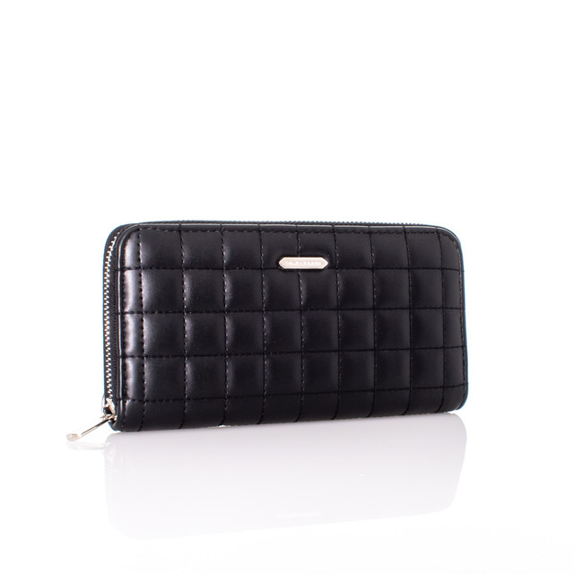 Peňaženka - prešívaná David Jones čierna