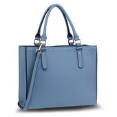 Kabelka - Irma, elegantná do ruky, modrá