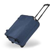Cestovný kufor - látkový, prispôsobiteľný, cestovný, tmavomodrý
