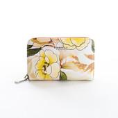 Peňaženka - kvetinová stredná Diana, broskyňová