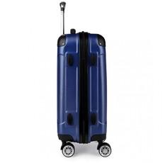 Kufor - Kono, unisex cestovný plastový malý, tmavomodrý
