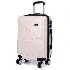 Set kufrov - KONO matný s doplnkami, béžový