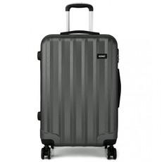 Set kufrov - tri kusy kufrov na cestovanie, unisex, sivý