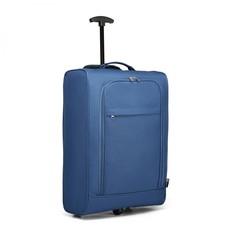 Kufor - polyesterový na cestovanie, modrý