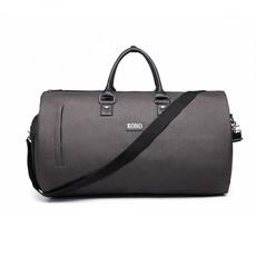 Cestovná taška - praktická na pobalenie, unisex, šedá