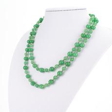 Náhrdelník - Avanturín dvojradový, zelený