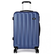 Set kufrov - tri kusy kufrov na cestovanie, unisex, tmavomodré