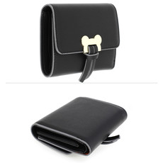 Peňaženka - Mickey mini eko kožená s doplnkami, čierna