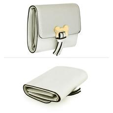 Peňaženka - Mickey mini eko kožená s doplnkami, strieborná
