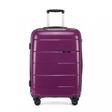 Kufor - cestovný KONO unisex PP lesklý malý, fialový