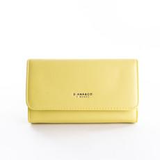 Peňaženka - Diana hladká veľká, žltá