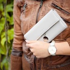 Peňaženka - Everly, tendency s doplnkami, sivá