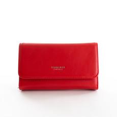 Peňaženka - Diana hladká veľká, červená