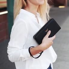 Peňaženka - Nightie Nicci na zips, čierna